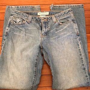 Maurice's lowrise bootcut size 5/6 jeans.